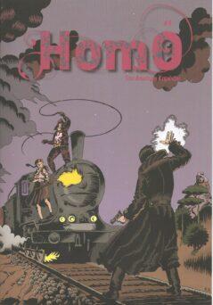 Homo : Το Τραίνο Θα Σφυρίξει 666 Φορές Δ' Τόμος