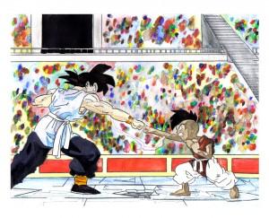 Goku ο εκπαιδευτής