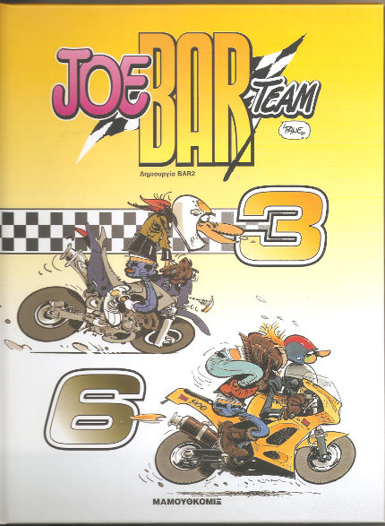 Joe Bar Team 3 – 6