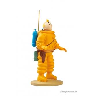 Τεντέν Αστροναύτης – άγαλμα resin