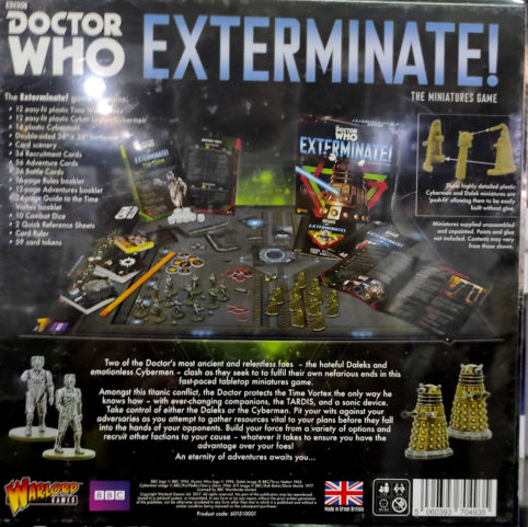 Dr Who Exterminate 2