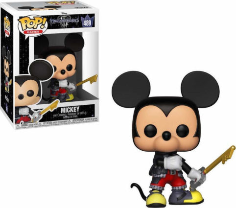 Mickey, Kingdom Hearts, POP 489