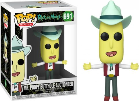 Mr. Poopy Buthole Auctioneer, Ricky And Morty, POP 691