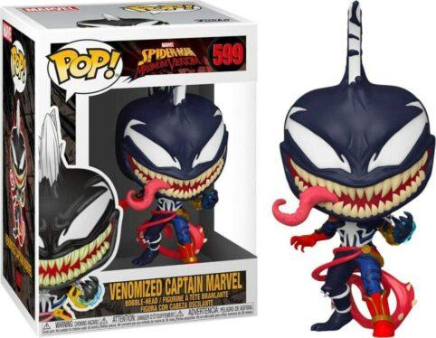 Venomized Captain Marvel – POP 599