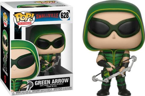 green arrow, smallville, pop 628