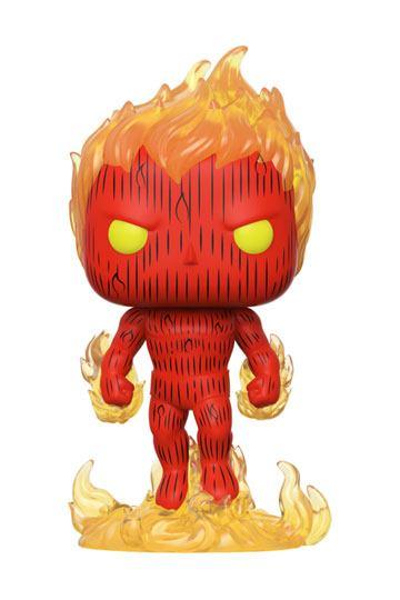 Fantastic Four POP! Marvel Vinyl Figure Human Torch 9 cm